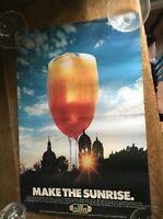 Vintage Jose Cuervo Make The Sunrise Taste the Sunrise poster 1973