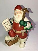 Vintage Christmas Holiday Lenox Santa Claus Figurine Workshop Craftsman Uncommon