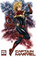 Captain Marvel #1 (RARE Mark Brooks Variant Cover, Marvel Comics) First Print