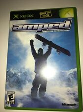 Amped:Freestyle Snowboarding-Tested-Rare Vintage Collectible-Fast Ship In 24 Hrs