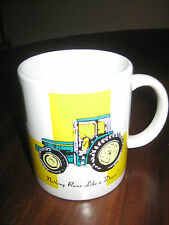John Deere Coffee Cup Mug Marketed by Gibson Yellow Green White Background