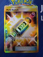 Pokemon Karte Multitausch 164/147 Secret Rare Nacht in Flammen Multi Switch
