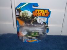 HOT WHEELS YODA TOY CAR