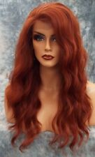 "20"" #350 Auburn 7A Brazilian Wavy 180% Density Glueless Full Lace Wig"