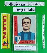 SANDRO MAZZOLA, INTER - FIGURINA DELLA COLLEZIONE PANINI 1962/63