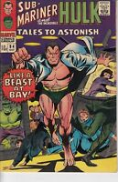 Tales to Astonish Sub-Mariner and The Incredible Hulk #84 (1966) VFN- Silver Age