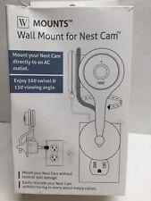 Wasserstein Wall Mount for Nest Cam Black