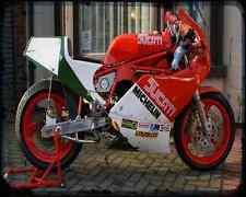 Ducati Tt2 1 A4 Photo Print Motorbike Vintage Aged