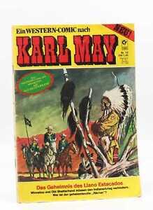 KARL MAY Condor Western Comic Heft Nr. 12 - Das Geheimnis des Llano Estacados