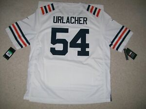 NEW NIKE XL BRIAN URLACHER Chicago Bears LOOSE FIT NFL Jersey Throwback White