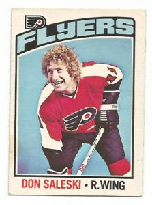 1976-77 O-Pee-Chee #81 Don Saleski Philadelphia Flyers