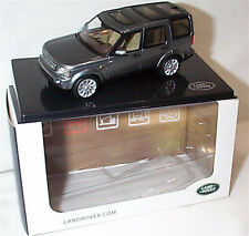 Land Rover Discovery 5 Door Indus Silver Dealer Model 1-43 Scale New in Case