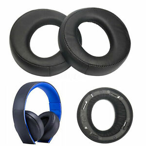 2PCS Replacement Ear Pads Cushion For SONY Gold Wireless PS3 PS4 7.1 Headset