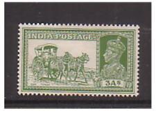 Inde-SG 253-M/M - 1937 - 3 A-Jaune Vert