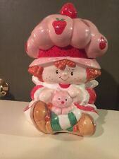 STRAWBERRY SHORT CAKE VINTAGE COOKIE JAR, EXCELLENT CONDITION