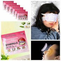 10 Pcs Fatigue Sleep Relaxing Steam Eye Mask Self-Heating Sleeping Patch Mask