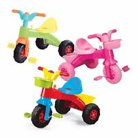 Dolu My First Ride Trike Kids Childrens Pink Orange Blue Outdoor Toys Pedal Horn