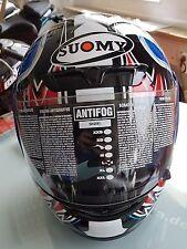 Suomy Apex Tornado Helmet Blue/Red, Integralhelm, Größe L, Antifog