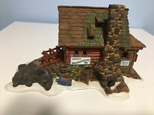 Dept 56 New England Village Semple's Smokehouse #56580- W/ light, orig. box