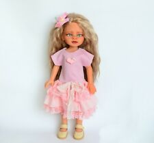 Clothes for Dolls 13 inch: Paola Reina, Corolle Les Cheries fluffy pink dress