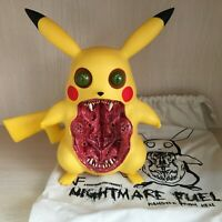 Rare Art Design Toy Pikachu Horror Nightmare Pocket Monsters Collectible Figures
