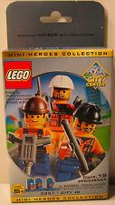 LEGO 3351 City #2  Mini Heroes  3 Figure Set Brand New  MInt in Lego Box