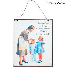Remember Metal Sign - Retro Vintage Plaque Large Novelty Signs Mum Dad Wine