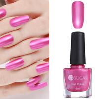 6ml UR SUGAR Rose Pink Mirror Metallic Nail Art Polish Manicure Varnish Decor