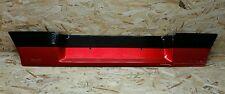 VW Golf 2 Heckblende Kennzeichenband Blende Heckklappe US schwarz/rot G60 16V