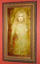 CSABA MARKUS LYONESSA ORIGINAL OIL Painting on Canvas