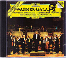 ABBADO STUDER TERFEL Waltraud MEIER Wagner Gala 1993 CD TANNHÄUSER LOHENGRIN