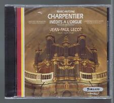 M.A CHARPENTIER CD NEW UNEDITED ORGAN WORKS JEAN PAUL LECOT