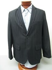 BROOKS BROTHERS Cotton and Wool Blend Chalk Stripe Deconstructed Blazer Size M