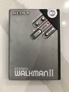 Vintage SONY WM-2 Stereo Walkman II Cassette Player 1981