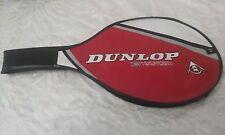 Dunlop 3 Hundred Nineteen Tennis Racket Cover Bag- Red