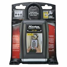 Master Lock PUSH BUTTON LOCK BOX Key Safe Outdoor Combination Lock-130x180x563mm