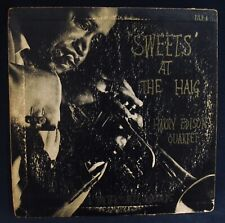 "HARRY EDISON QUARTET~Sweets At The Haig~Jazz 10"" Album~PACIFIC JAZZ  #PJLP-4"
