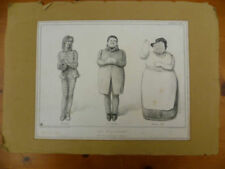 Lithograph Cartoon Original Art Prints