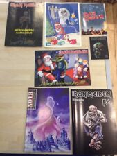 Iron Maiden Xmas Cards - Post Card - Special Edition FC Magazine - Biography Mag