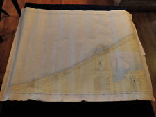Vtg 1956 Army Engineers Lake Erie from PA to Ohio U S Lake Survey Map #33 AT4