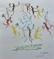 "PABLO PICASSO ""Danse""THE DANCE OF YOUTH SIGNED HAND NUMBERED 679/1000 LITHOGRAPH"