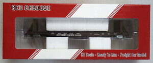 Red Caboose / SPH&TS Southern Pacific Flat Car with Bulkheads - HO Scale