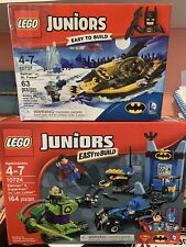 Lego Juniors Batman & Superman Vs Lex Luthor Mr Freeze 10724 10737