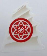 Lego New White Cloth Ninjago Boat Sail Triangular 16 x 18 Red Circle Piece