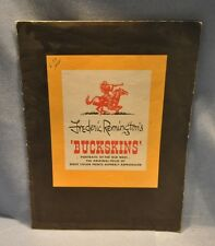 Frederic Remington Buckskins 1956 Penn Prints 7 of 8 Prints in Original Folio