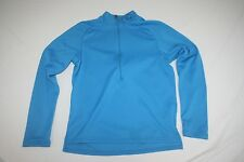 Pearl iZumi Cycling Jersey 1/2 Zip Long Sleeve Base Layer Jersey Women XS Blue