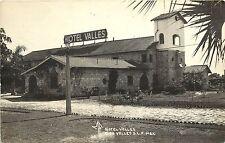 1930-1950 RPPC; Hotel Valles, C. de Valles, S.L.P. Mexico MF 40 Unposted