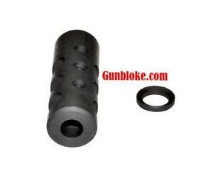 9mm Muzzle Brake threaded in 13.5x1 Left Hand, H&K,SIG Sauer,Glock,Beretta,Canik