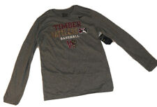 Wisconsin Timber Rattlers Nike Long Sleeve Gray Shirt Mens Small- NEW W/ TAGS