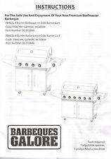 Beefmaster BBQ 4 Burners with side wok burner plus prep area